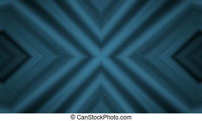Diagonal lines kaleidoscope - Blue Diagonal lines...
