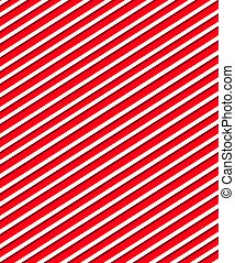 Diagonal Lines on bright red - Bright red background is...