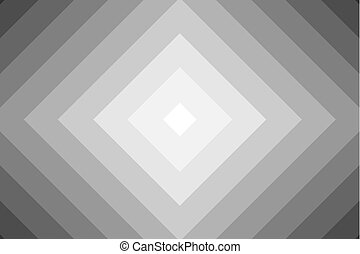 Concentric square gray vector pattern - Diagonal lines,...