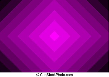 Concentric square violet vector pattern - Diagonal lines,...