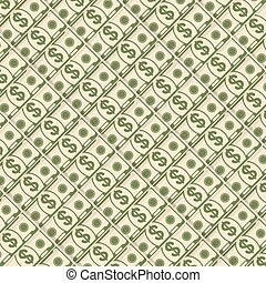 diagonal money background - Paper dollars background....