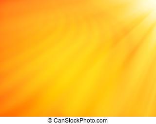 Diagonal orange desert dune with light leak bokeh background...
