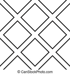 diagonal, quadrat, kreuz, auf, transparent, hintergrund,...