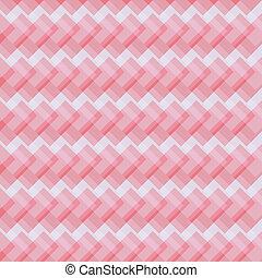 diagonal, résumé, rouges, entrecroisement