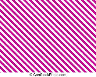 diagonal, rosa, streifen
