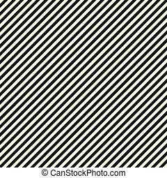 diagonal, schwarz, papier, streifen, weißes