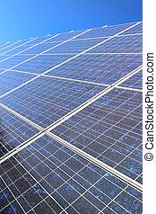 Diagonal solar panel