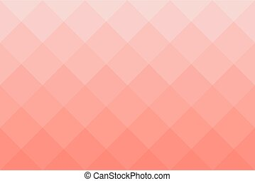 Diagonal square background pattern in shades of red -...