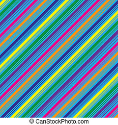 Diagonal Stripes Background - Colorful abstract stripes