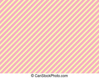 Diagonal Swatch Striped Fabric Back Wallpaper In Pink