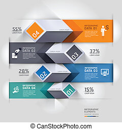 diagram, abstract, infographics., 3d