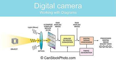 Diagram digital dslr.