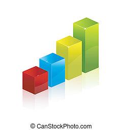 diagram, grafiek, tabel
