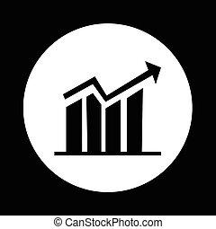 diagram graphs icon design
