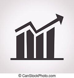 diagram icon , graphs icon