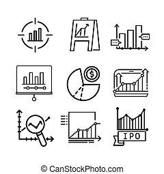 diagram icon set vector illustration design