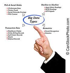 diagram of Big Data type