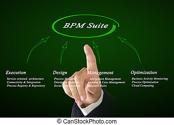 Diagram of BPM Suite