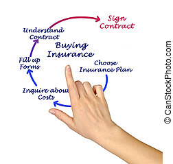 Diagram of Buying Insurance