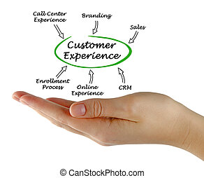 Diagram of Customer Experience