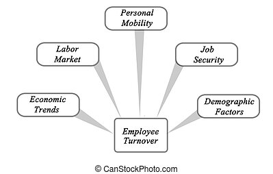 Diagram of Employee Turnover