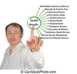 Diagram of Essential Health Benefits