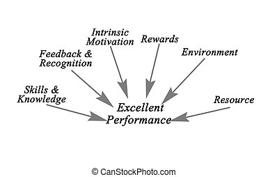 Diagram of Excellent Performance