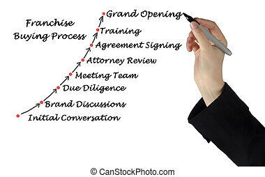 Diagram of Franchise Buying Process