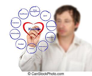Diagram of health