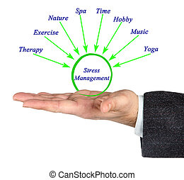 Diagram Of Stress Management