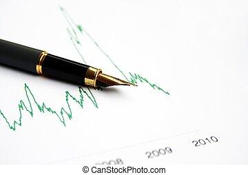 diagram, piac, részvény