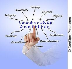 diagram, przewodnictwo, qualities