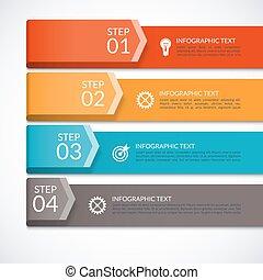 diagram, sieć, nowoczesny, liczba, prezentacja, wykres, projektować, broszura, szablon, infographics, opcje