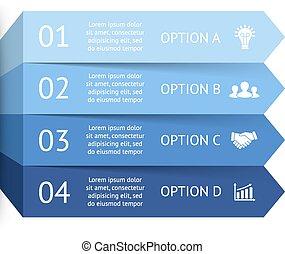 diagrama, conceito, processos, negócio, partes, infographic,...