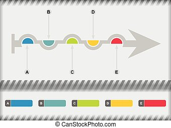 diagrama flujo, plantilla
