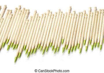 diagrama, toothpicks