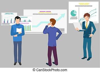 diagramas, trabajo en equipo, analytics, infographics, datos