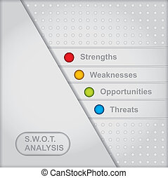 diagramm, analyse, swot