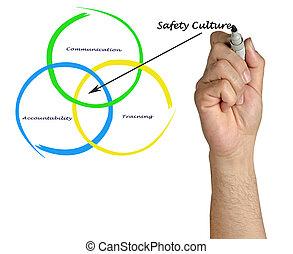 diagramm, kultur, sicherheit