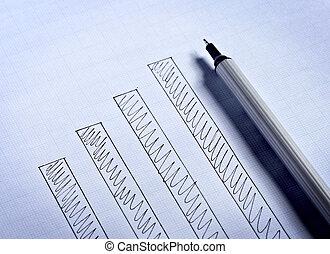 diagramm, schaubild, finanz, geschaeftswelt