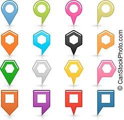 diagramm- stift, zeichen, ort, ikone, weiß