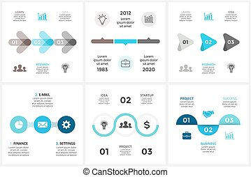 diagramma, concetto, triangolo, processes., affari, infographic, timeline, opzioni, frecce, grafico, chart., parti, 3, vettore, passi, cerchio, presentazione, ciclo