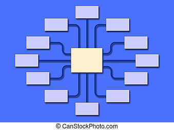 diagramma flusso, affari