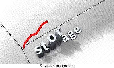 "diagramme, animation, storage."", ""growing, graphique"