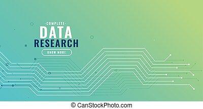 diagramme, circuit données, fond, recherche