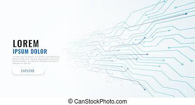 diagramme, concept, technologie, circuit, fond