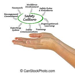 diagramme, culture, sécurité