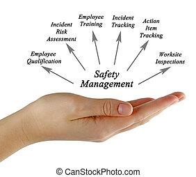 diagramme, de, sécurité, gestion
