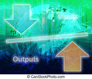 diagramme, théorie, business, équité