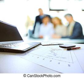 diagrammes,  table, Graphiques,  Business